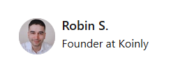Koinly Founder Robin Singh