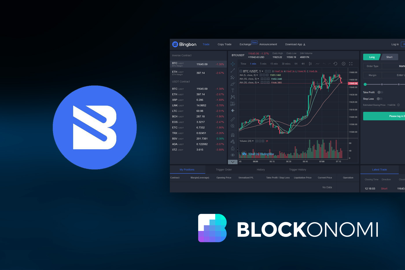 Bingbon Review: Cryptocurrency Derivatives Trading Platform