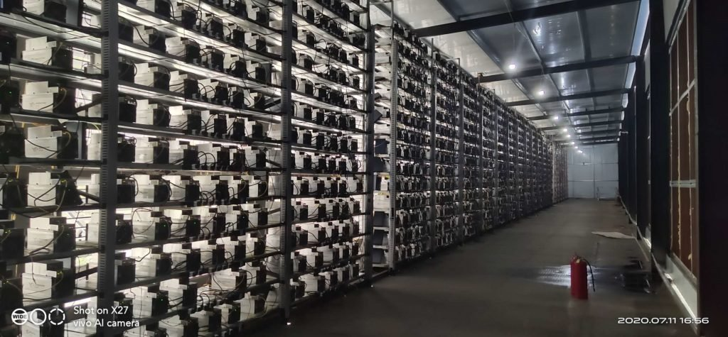 MiningJOY's mining center with the most advanced miners