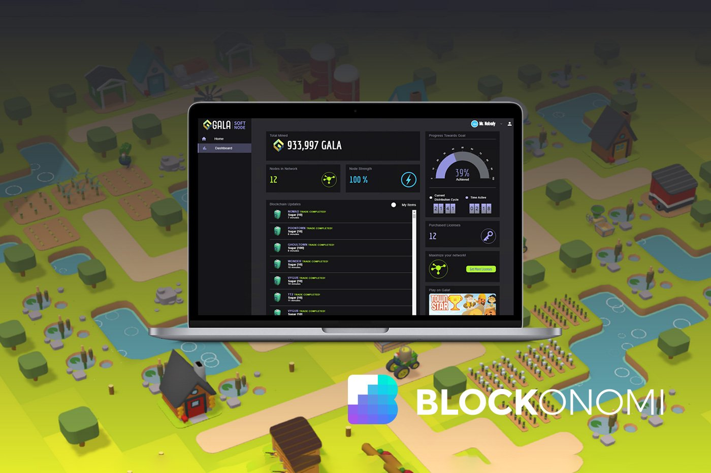 Simplex Debuts Fiat On-Ramp for Blockchain Game Townstar
