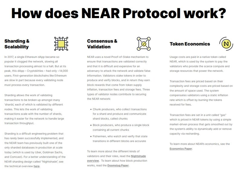 How does NEAR Protocol work?