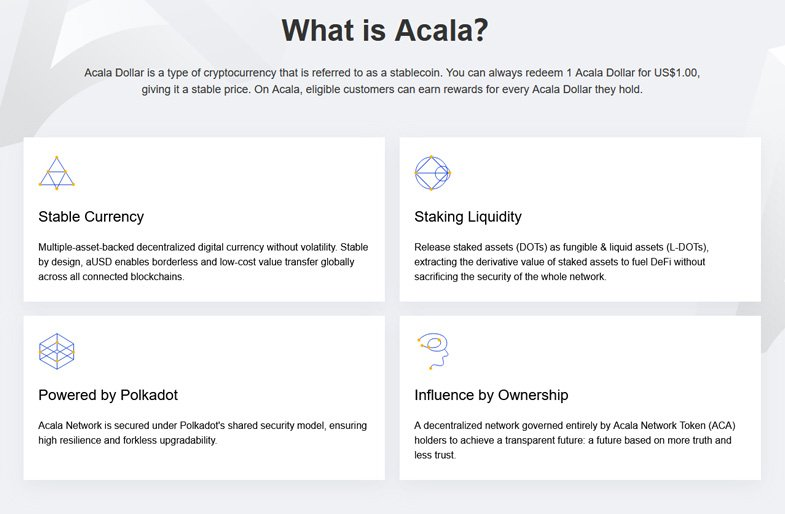 What is Acala?
