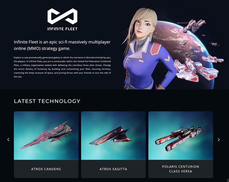 Infinite Fleet is an epic sci-fi massively multiplayer online (MMO) strategy game.