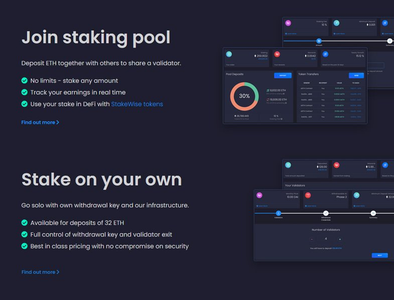 Staking Options