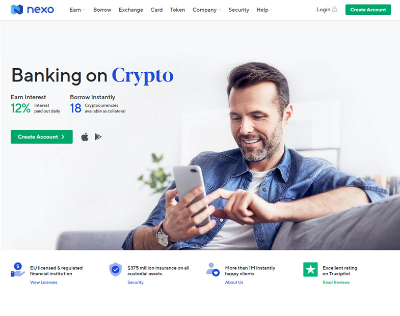 A Full Suite of Crypto-Focused Retail Banking Services 1
